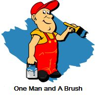 One Man and A Brush - Woodstock House Painter